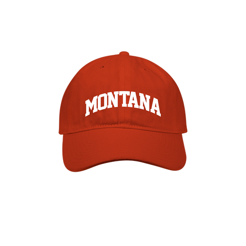 Red Montana Dad Hat + Digital Album