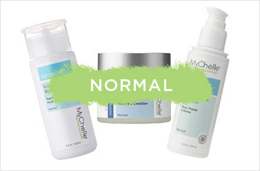 normal skin products