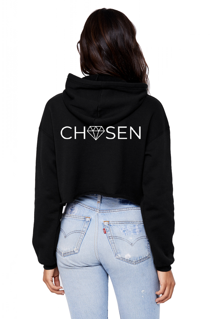 CHOSEN Women's Crop Hoodie - Streetwear Edition