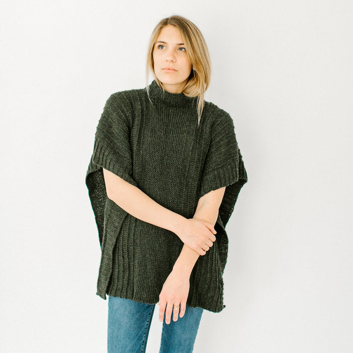 Golden Thyme Poncho