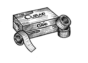 CURAD Transparent Paper Tape