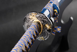 Majesty - Clay Tempered Damascus Steel Katana