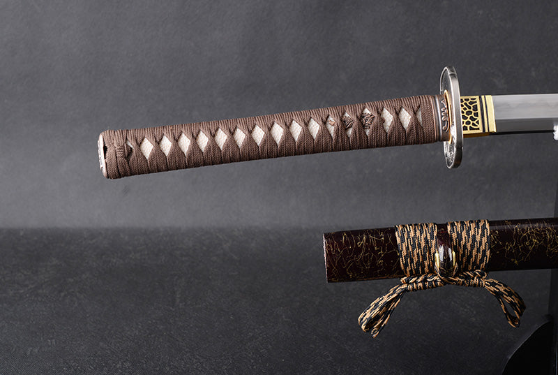 Honor - Clay Tempered Damascus Steel Katana