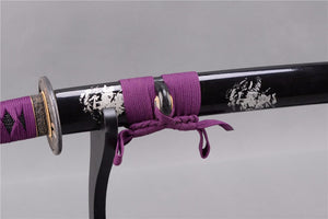 Purple Lotus - Manganese Steel Katana