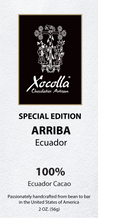 Single Origin Dark Chocolate - Arriba 100%