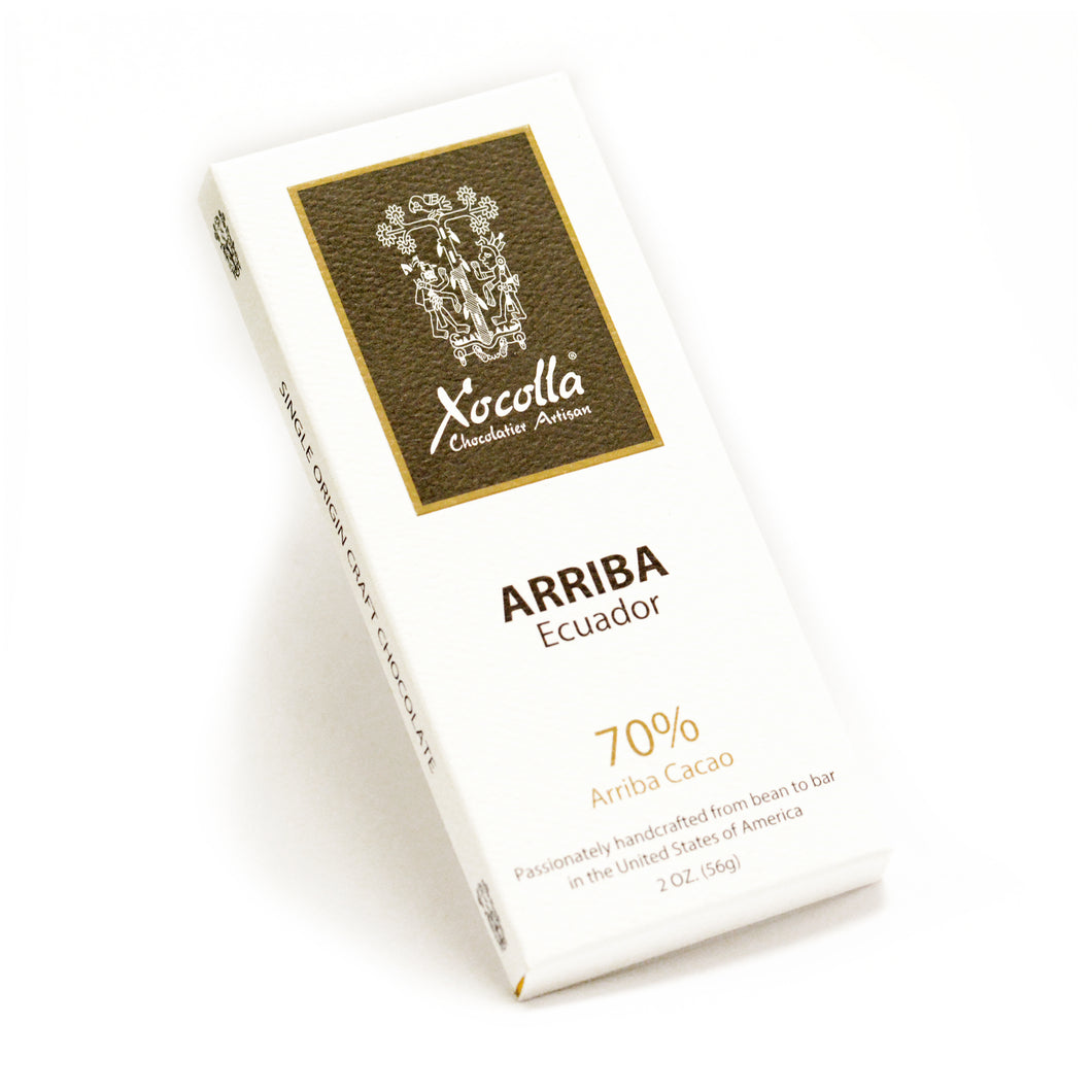 Single Origin Craft Chocolate - ARRIBA - Case of 12
