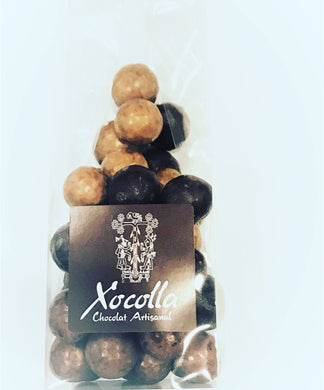 Assorted Hazelnuts coated Sambirano & Moka