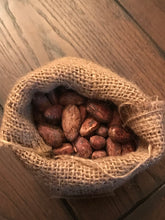 In-house Roasted Cacao Beans - Marañón - 1lb burlap bag