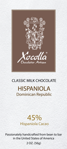 Classic Milk Chocolate - HISPANIOLA - 2 OZ Bar