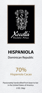 Single Origin Craft Chocolate - HISPANIOLA - 2 Oz Bar