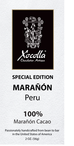 Single Origin Dark Chocolate - Marañón 100%