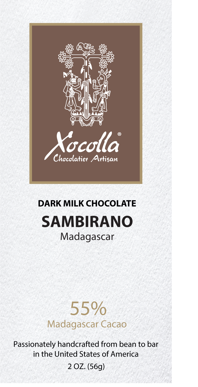 SAMBIRANO DARK MILK 55%