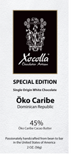 Single Origin White Chocolate - Öko Caribe 45%