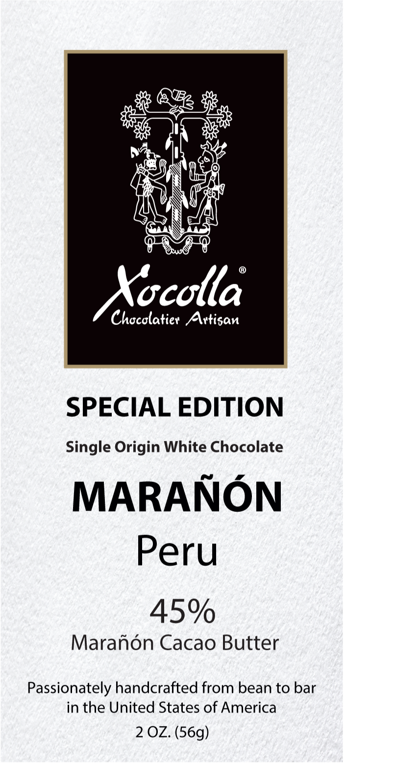 Single Origin White Chocolate - Marañón 45%