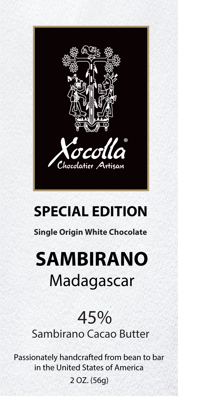 Single Origin White Chocolate - Sambirano 45%