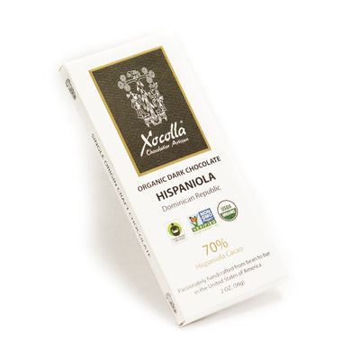 Organic Dark Chocolate - HISAPNIOLA Case of 12