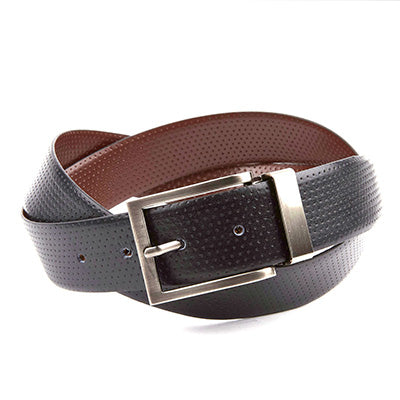 Reversible Belt // Black + Brown