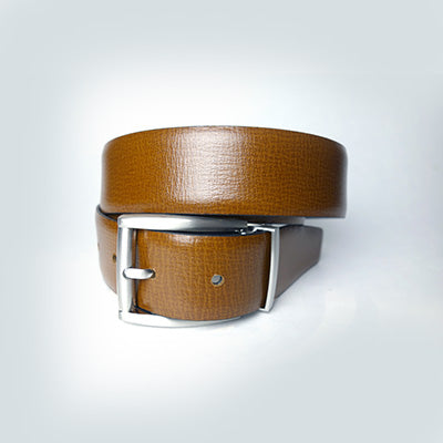 Reversible Belt // Black + Cognac