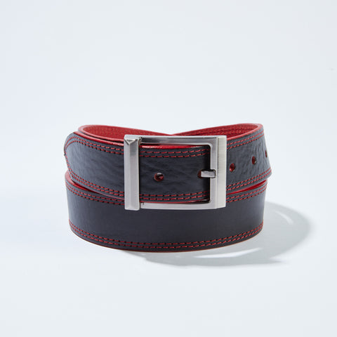 Stitch Belt - Black/Red