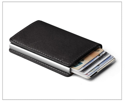 pop out black wallet