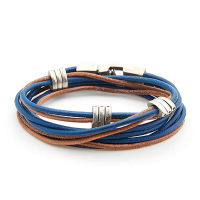 TOUCH Collection - Blue Cognac Bracelet