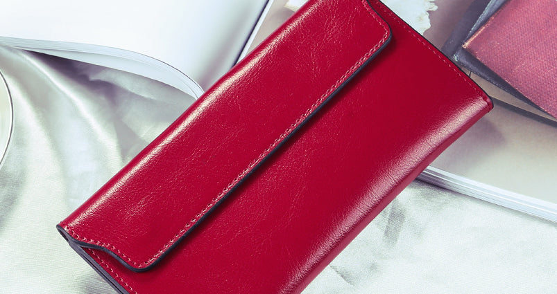 Slim Wallet - Red