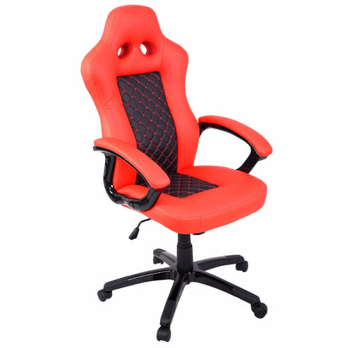 Red Racing Style Office Chair