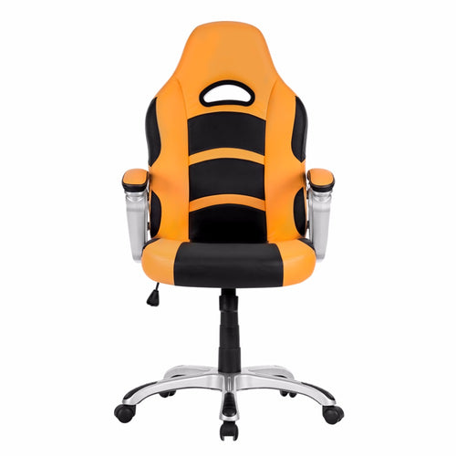 Ergonomic High-Back Faux Leather Racing Style Computer Gaming Executive Office Chair