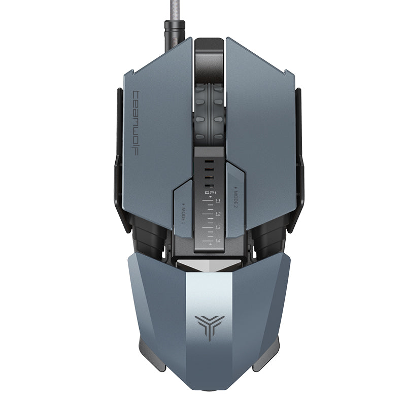 TeamWolf Changeable Gaming Mouse - 2 Colors