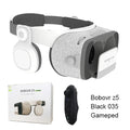 3D Cardboard Helmet Virtual Reality Glasses Headset Stereo Box for 4.7-6.2' Mobile Phone