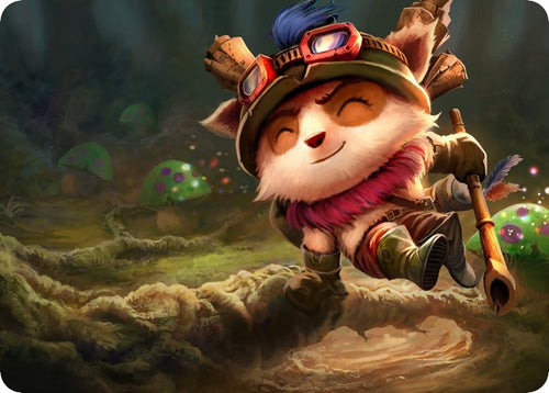 League of Legends mouse mats - Swift Scout Teemo mouse pad