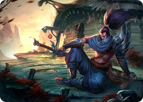 Unforgiven Yasuo mouse pad lol pad mouse League laptop mousepad High quality gaming padmouse gamer of Legends keyboard mouse mat