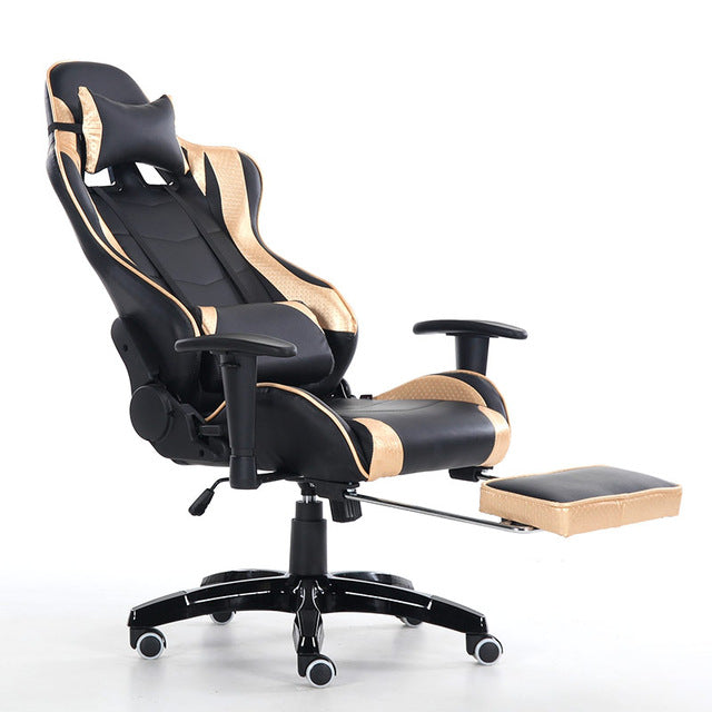 High Quality Ergonomic Computer Gaming Chair LOL WCG Lying Footrest Lifting Swivel Chair Lengthen Backrest
