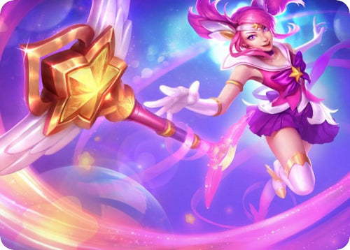 League of Legends mouse mats - Star Guardian Lux mouse pad