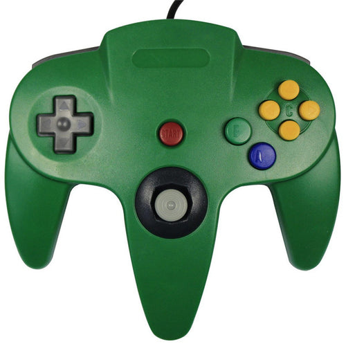 YOTEEN  Long Handle Game Wired Game Controller for Nintendo 64 N64 Joypad Joystick Gaming For Nintendo N64 System Game Pad
