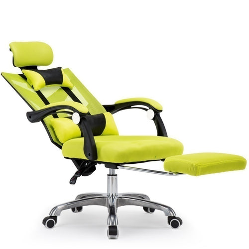 Reclining Gaming Chair - Yellow
