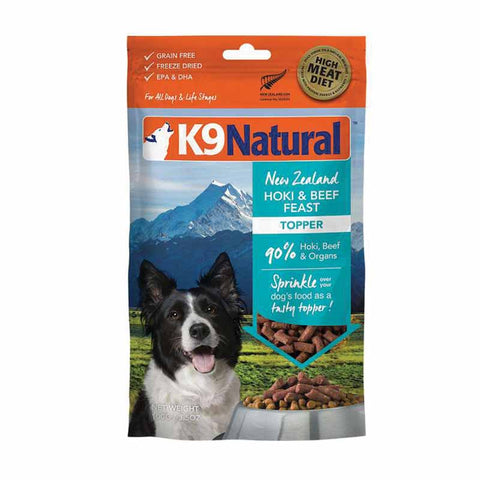 K9 Natural - Hoki & Beef Feast Topper - 100g