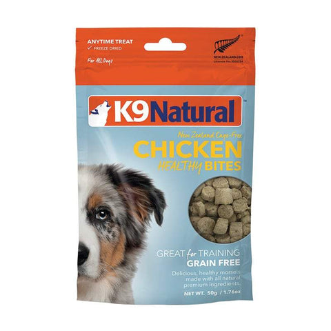 K9 Natural - Chicken Healthy Bites Treats - Freeze Dried