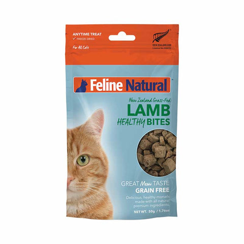 K9 Natural - Feline Healthy Bites - Lamb - 50 g