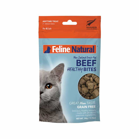 K9 Natural - Feline Healthy Bites - Beef 50 g