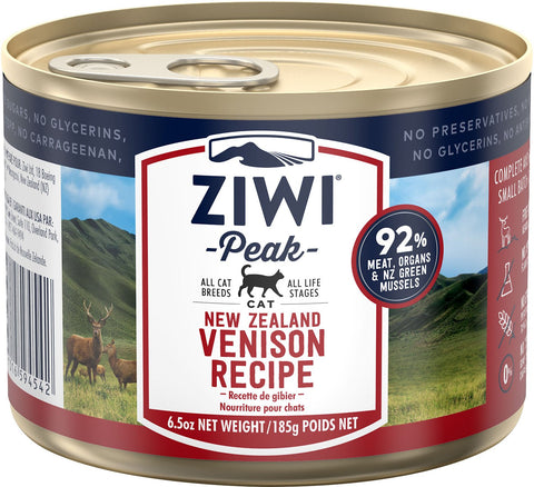 ZiwiPeak Daily Cat Venison 12 6.6 oz cans