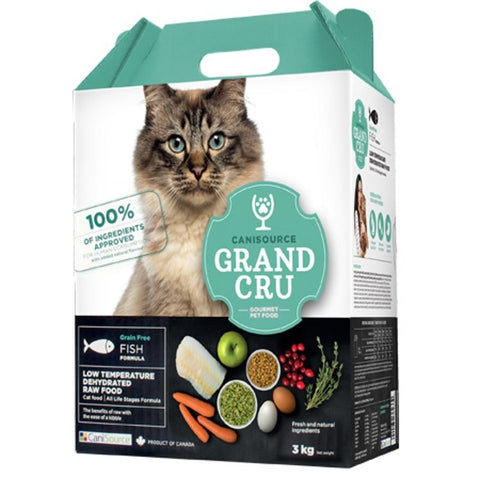 Canisource Grand Cru Grain Free Dehydrated  Fish for Cats 3KG