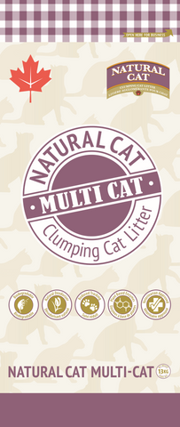 Natural Cat Litter Multi-Cat 13Kg