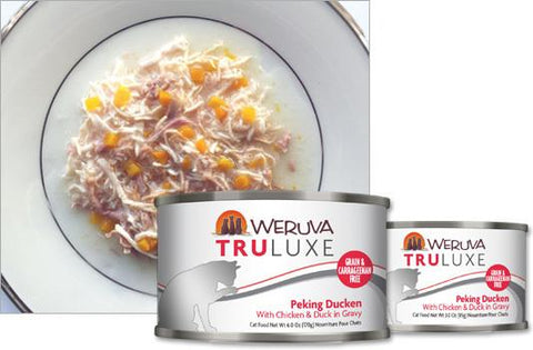 Weruva Truluxe Peking Ducken ' With Chicken & Duck in Gravy 24 x 6 oz. cans