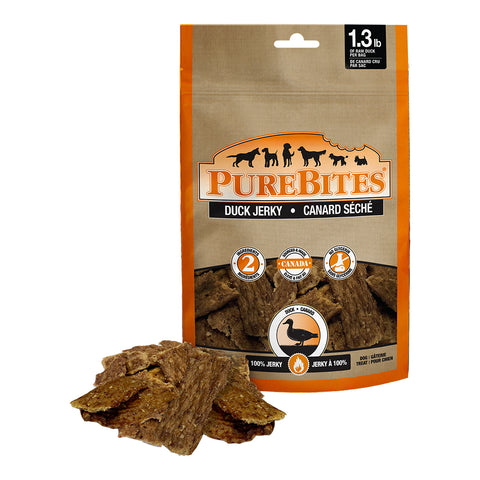 Purebites Duck Jerky 156 Grams