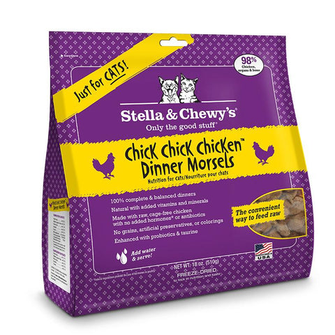 Stella & Chewy's Chick  Chick  Chicken Freeze-Dried 18 oz.