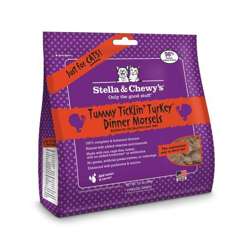Stella & Chewy's Tummy Ticklin' Turkey Freeze-Dried 18 oz.