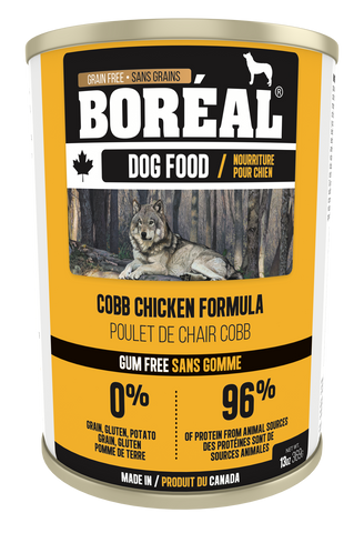 BORÉAL CANADIAN COBB CHICKEN FORMULA for Dogs 12 x 13.2 oz cans - Naturally Urban Pet Food Delivery
