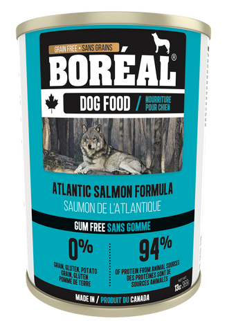 BORÉAL CANADIAN Atlantic Salmon FORMULA for Dogs 12 x 13.2 oz cans