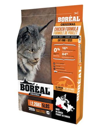 BOREAL Original Chicken Grain Free for Cats 12 lbs.